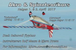 Akro teorikurs på Reinsvoll @ Reinsvoll flyplass | Oppland | Norge