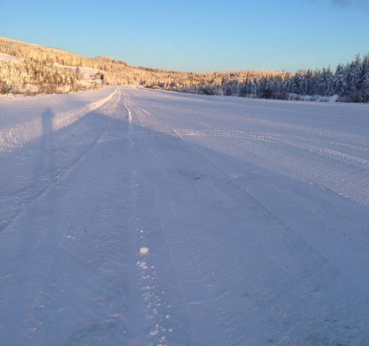Flotte vinterforhold på ENRV